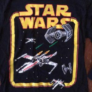 Star Wars Black Long Sleeve t shirt